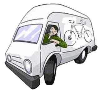 zona arancione ritiro bici a domicilio